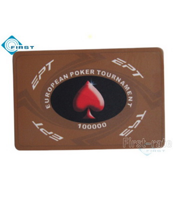 EPT Poker Plaque