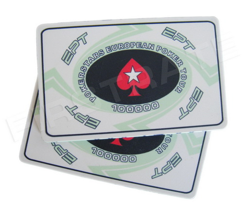 Custom Ceramic EPT Square Poker Chips