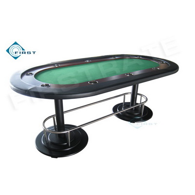 Fat Cat Oval Texas Hold\'em Poker Tables Green