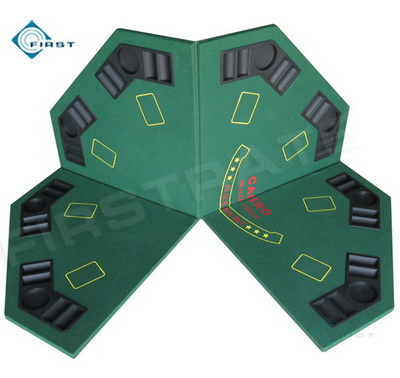 Folding Octangle Poker Table Tops