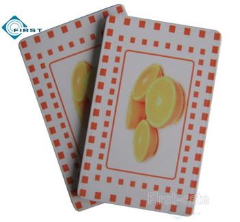 Fruit Style Custom Ceramic Poker Plaque