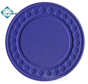 8g Pure Clay Diamond Poker Chips Purple