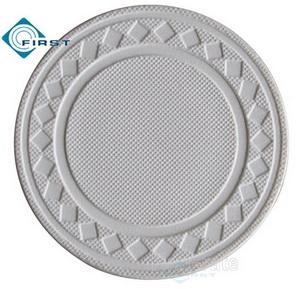 8g Pure Clay Diamond Poker Chips White