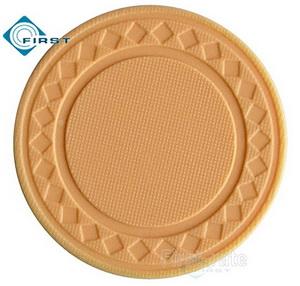 8g Pure Clay Diamond Poker Chips Yellow