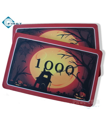 Halloween Poker Plaque Party Decoration