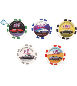 High Roller Casino Poker Chips