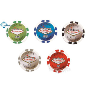 Las Vegas Poker Chips