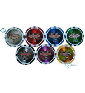 Las Vegas Plastic Poker Chips