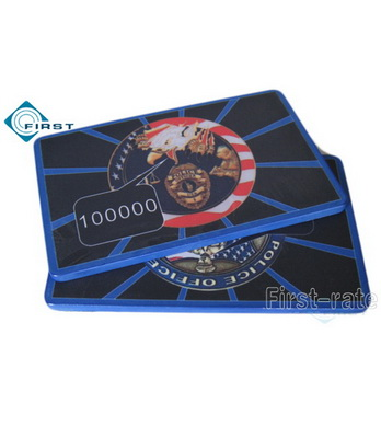Military Poker Plaques