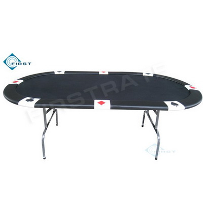 Oval Suited Poker Tables