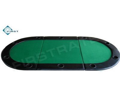 Padding Casino Poker Folding Table Top