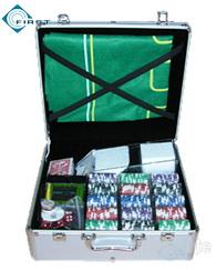 600pcs Casino Poker Chip Set