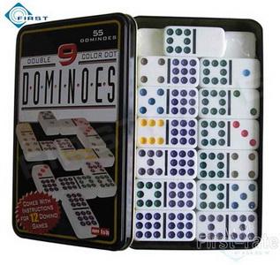 55pcs Double Nine Domino Set