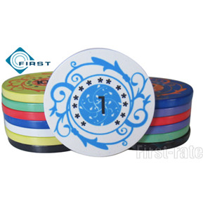 Personalized Birthday Poker Chips Party Favors