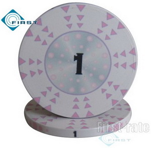 Personalized Ceramic Game Chips