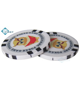 Personalized Poker Chips for Prom or Graduation