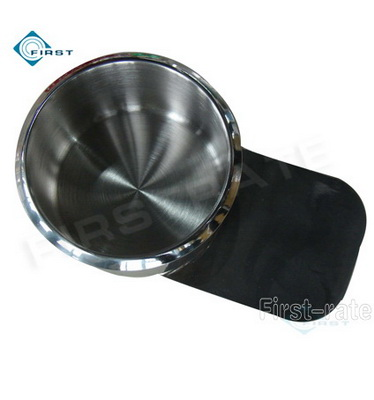 Poker Stainless Steel Cup Holder - Slide Under