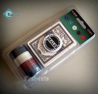 Promotion Plastic Poker Chips Set
