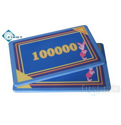 Rectangular Ceramic Chips Cartoon Design