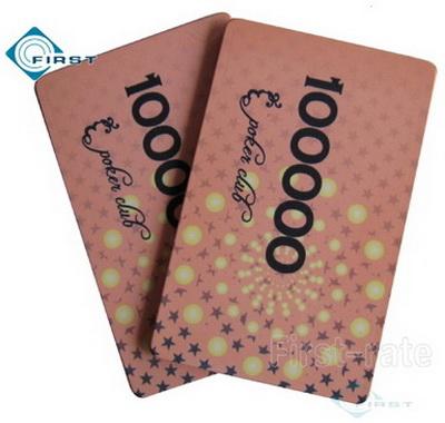 Rectangular Poker Club Ceramic Plaques