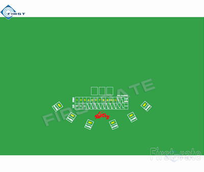 Red dog Poker Casino Layout