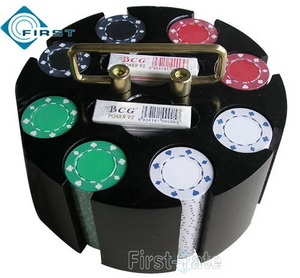 Revolving Poker Chips Rack