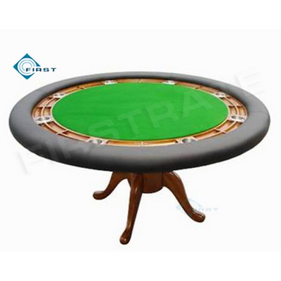 Round Wooden Casino Poker Tables