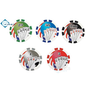 Royal Flushed Poker Chips