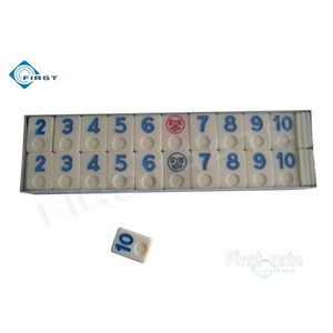 Rummy Number Tiles Set