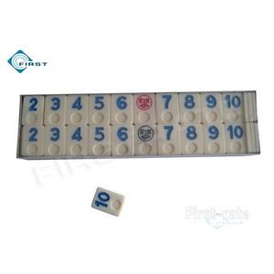 Rummy Number Tiles Set