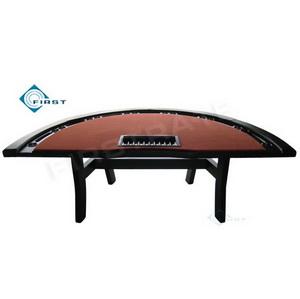 Semi-circle Gambling Poker Table
