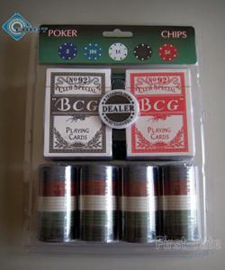 Suited 100 Poker Chips Gift Set