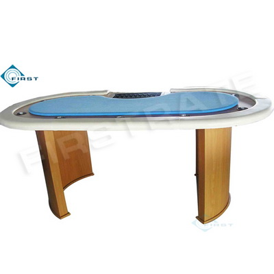 Texas Hold\'em Furniture Poker Table with Tray