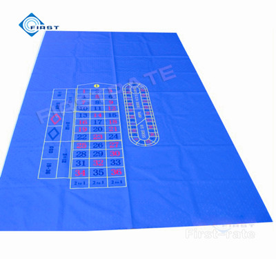 UK Roulette Poker Table Layout With Bet