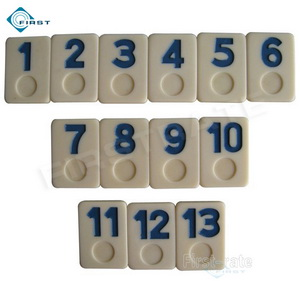 Urea Rummy Set Blue Numbers