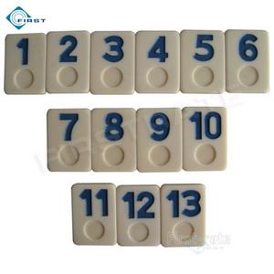 Urea Rummy Set Blue Numbers