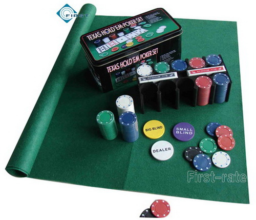 texas hold em set up