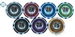 Tournament pro series 14g clay casino poker chip free card games casino